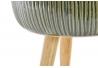 Macetero gres roble verde 24x24x29 cm