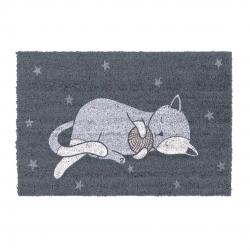 Felpudo original gato estrellas 40x70 cm