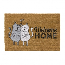 Felpudo original welcome home gatos 40x70 cm
