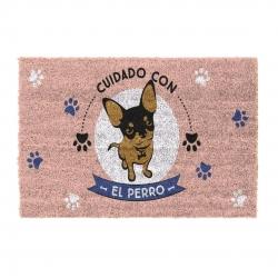 Felpudo original cuidado perro 40x70 cm