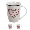 Tazas original diseño corazon romantico Set de 3 mug 300cc