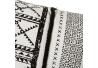 Juego de 2 cojines bono negro blanco 45x45 cm