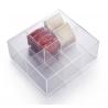 Caja de TÉ de acrilico con 6 departamentos