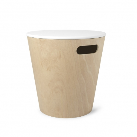 Taburete de madera natural acabado de alta calidad