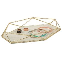 Prisma Moderno, Soporte de joyas y almacenamiento, revestido en polvo