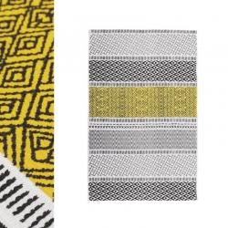Alfombra amarillo 60x90cm