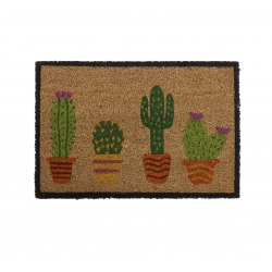Felpudo de 4 macetas cactus 40x60 cm