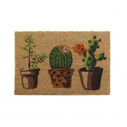 Felpudo de 3 macetas cactus 40x60 cm