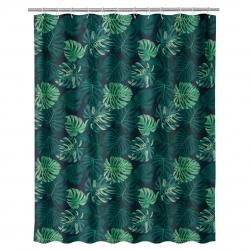 Cortina para cuarto de baño Tropical de 180 x 200 cm