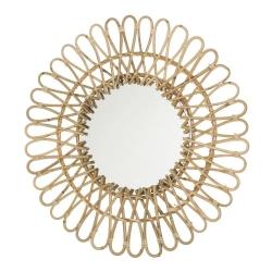 Espejo redondo moderno para salón de 55 cm