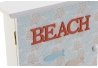 Caja guardallaves beach con 6 colgador