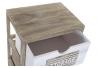 Cajonera paulownmia de madera con 4 cajones natural para dormitorio