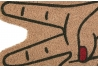 Felpudo Manos Entrada Casa Original y Divertido Formas 70x40 cm