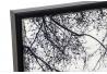 Cuadro en lienzo paris enmarcado blanco 144x84 cm