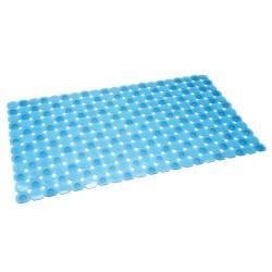 Alfombra bañera/ducha antideslizante azul 68.50 X 38 cm
