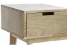 Mueble descalzador de pino 100x35x57 cm