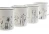 Pack 4 Tazas ceramica animales