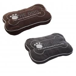 Camas de mascotas de algodon en forma de hueso 55cm
