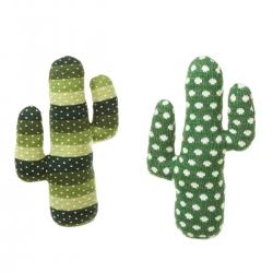 Set 2 tope de puerta cactus verde