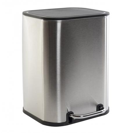 Papelera de baño de inox 5L