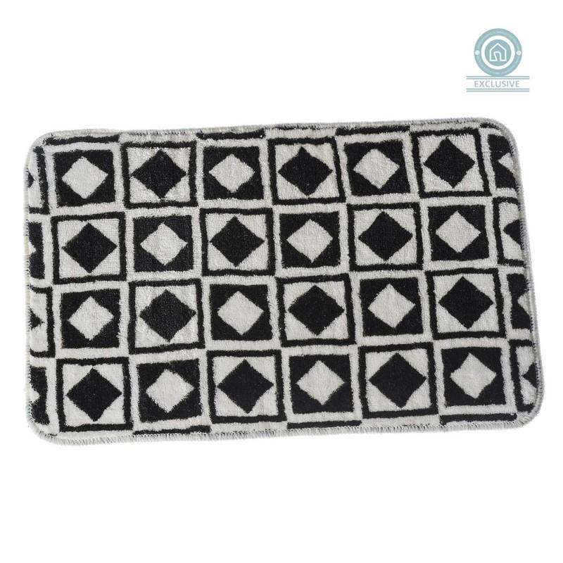 alfombra bao moderna diseo damero x cm