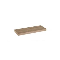 Estante de pared de madera marrón nórdico de 60x23x4 cm