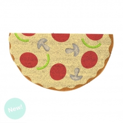 Felpudo pizza para Entrada 40x70 cm