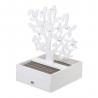 Joyero Árbol de la Vida de madera blanco moderno para dormitorio Sol Naciente