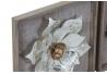 Conjunto de Murales decoracion pared madera y metal 30x30 cm