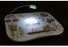 Bandeja para portatil con luz de led objectos multicolor