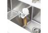Organizador de utensilios de cocina, metal, color blanco