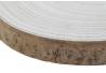 Centro de mesa madera paulownia tronco 26 cm