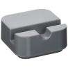 Soporte para teléfono color gris