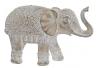 Figura elefante resina envejecido decoracion