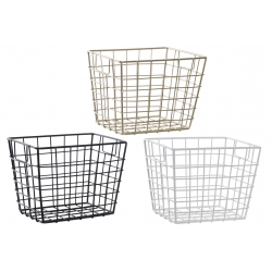 Cestas metal para cocina surtido de 3 color