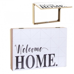 Tapa de contador diseño romantico Welcome home