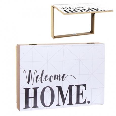 Tapa de contador diseño romantico Welcome home