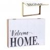 Tapa de contador diseño frase Welcome home
