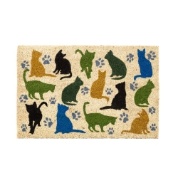Felpudo original gatos MIAU 40x60 cm
