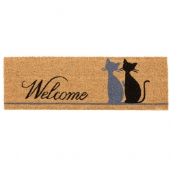Felpudo original gatos MIAU WELCOME 75x25 cm