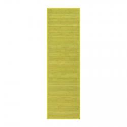 Alfombra Pasillera Oriental Verde De Bambú De 60 X 200 Cm Sol Naciente