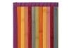 Alfombra pasillera pop naranja de bambú para pasillo de 60 x 200 cm Iris