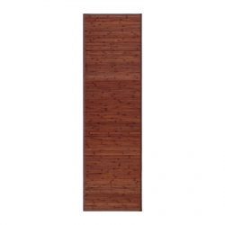 Alfombra pasillera industrial marrón de bambú de 60 x 200 cm Factory