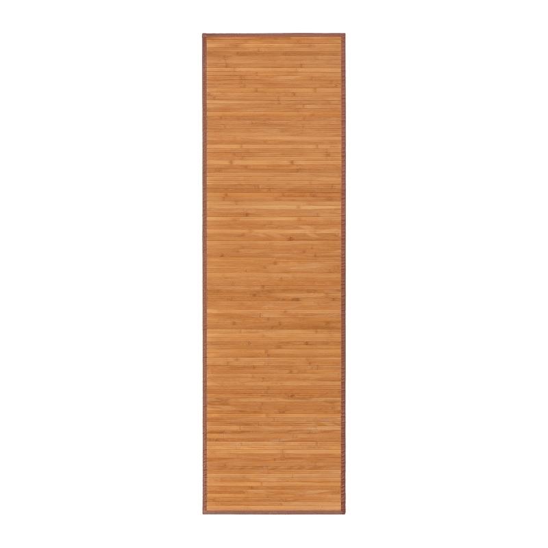 150 x 200 cm MI CASA Mi Alfombra de Bambu Marron
