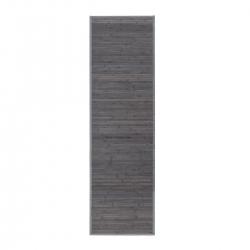 Alfombra pasillera industrial gris de bambú de 60 x 200 cm Factory