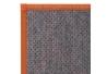 Alfombra pasillera oriental naranja de bambú de 75 x 175 cm Sol Naciente