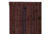 Alfombra pasillera oriental marrón de bambú de 75 x 175 cm Sol Naciente