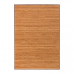Alfombra pasillera industrial marrón de bambú de 140 x 200 cm Factory