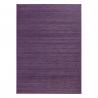 Alfombra de salón o comedor provenzal lila de bambú de 180 x 250 cm France