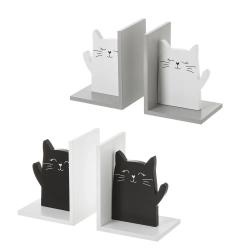 Sujetalibros original infantil blanco o negro gatitos